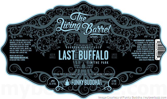 Funky Buddha Bourbon Barrel Last Buffalo In The Park Coming To Living Barrel Series