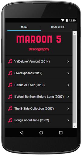 Maroon 5 Lyrics Complete
