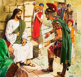 Αποτέλεσμα εικόνας για ο χριστοσ και ο εκατονταρχος