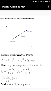 Maths Formulas Free - náhled