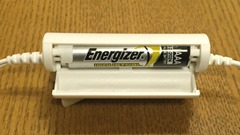 audio-technica カナル型イヤホン ノイズキャンセリング ATH-ANC23 電池ボックス