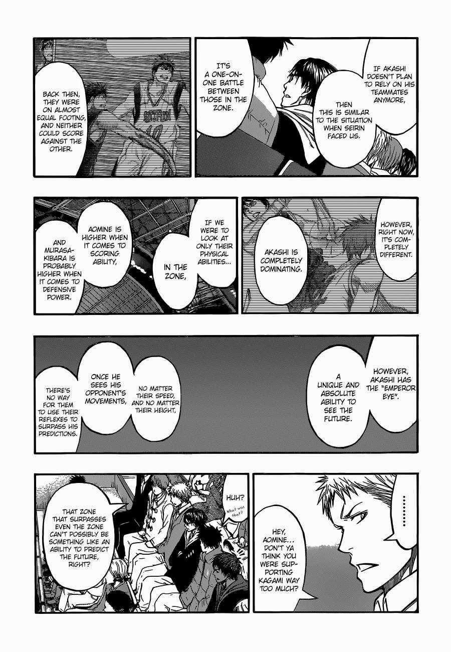 Kuroko no Basket Manga Chapter 262 - Image 12