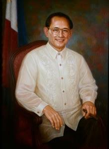 Fidel Ramos painting
