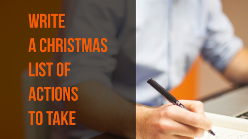 write a list of what you need to do for Christmas