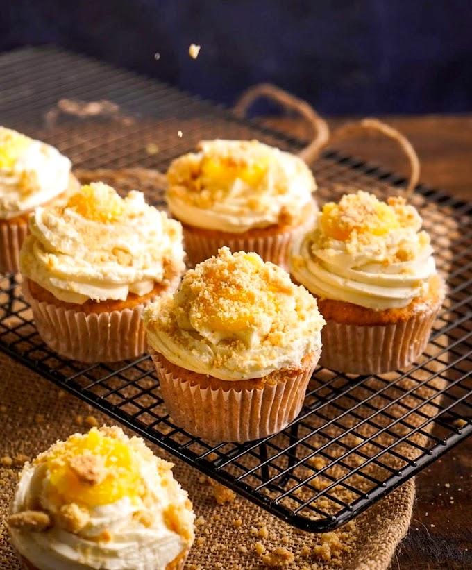 Pina Colada Cupcakes Recipe | Breakfast Care | Healthy Breakfast