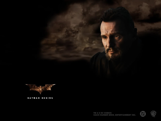 BAtman Begins Liam Neeson as Henri Ducard Ra's Al Ghul