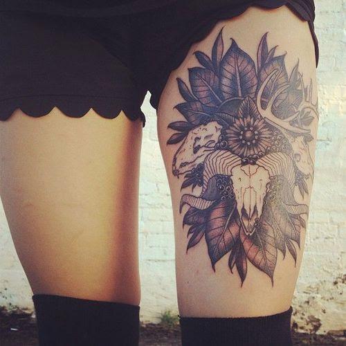 tattoo leg