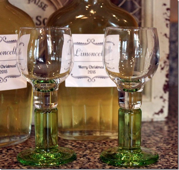 Limoncello Two Glasses