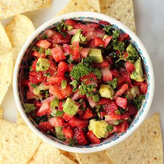 Strawberry Avocado Jalapeño Salsa.