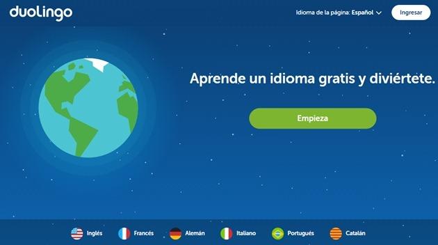 Abrir mi cuenta Duolingo