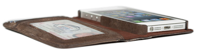 Twelve South BookBook for iPhone5 Brown