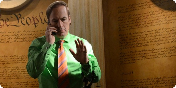Saul Goodman (Bob Odenkirk) - Breaking Bad _ Season 5, Episode 9 - Photo Credit: Ursula Coyote/AMC