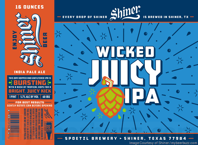 Shiner Adding Wicked Juicy IPA