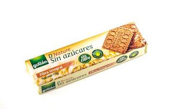 Galletas Gullón Fibra   Integral Diet Nature Sin Azúcar Paquete X170G.