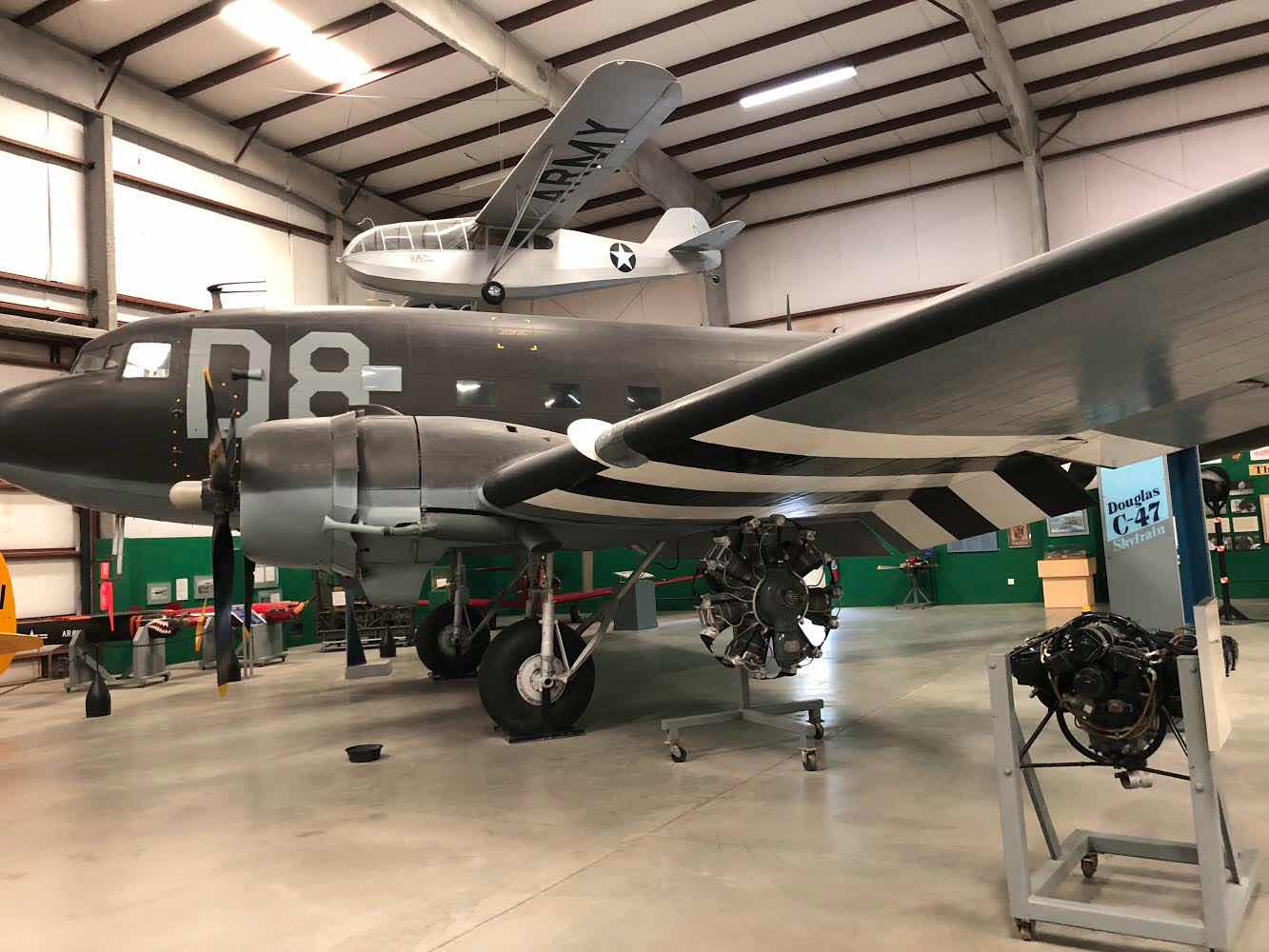 The C-47 was one type of aircraft my father flew in WWII (Source: Palmia Observatory)