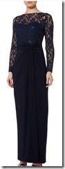 Lauren Ralph Lauren wrap lace maxi dress