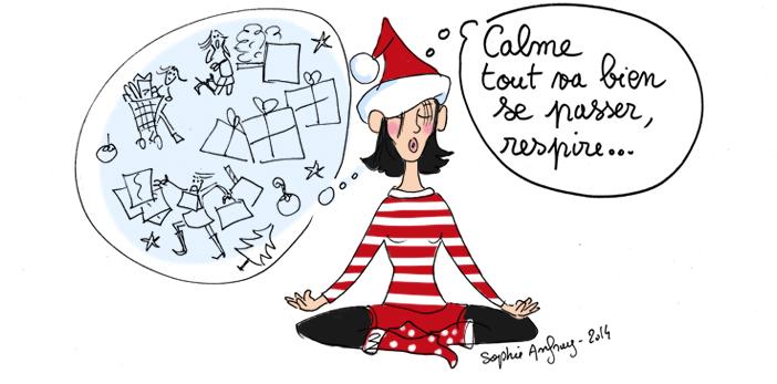 Stress de Noël : restez zen