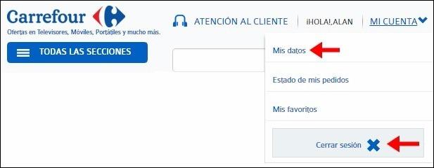 Abrir mi cuenta Carrefour - 455