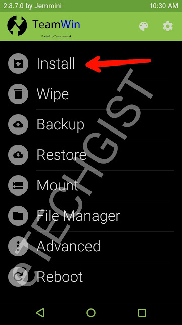 twrp for gionee m5