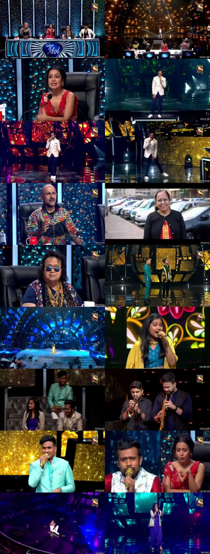 Screenshots Of Hindi Show Indian Idol 19th January 2020 Episode 30 300MB 480P HD