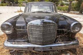 Abandoned Old Mercedes-Benz