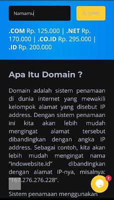 Cara Menghilangkan Blogspot di Blogger: Sewa Domain di IndoWebsite.net