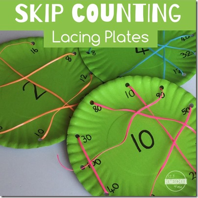 skip counting lacing plates
