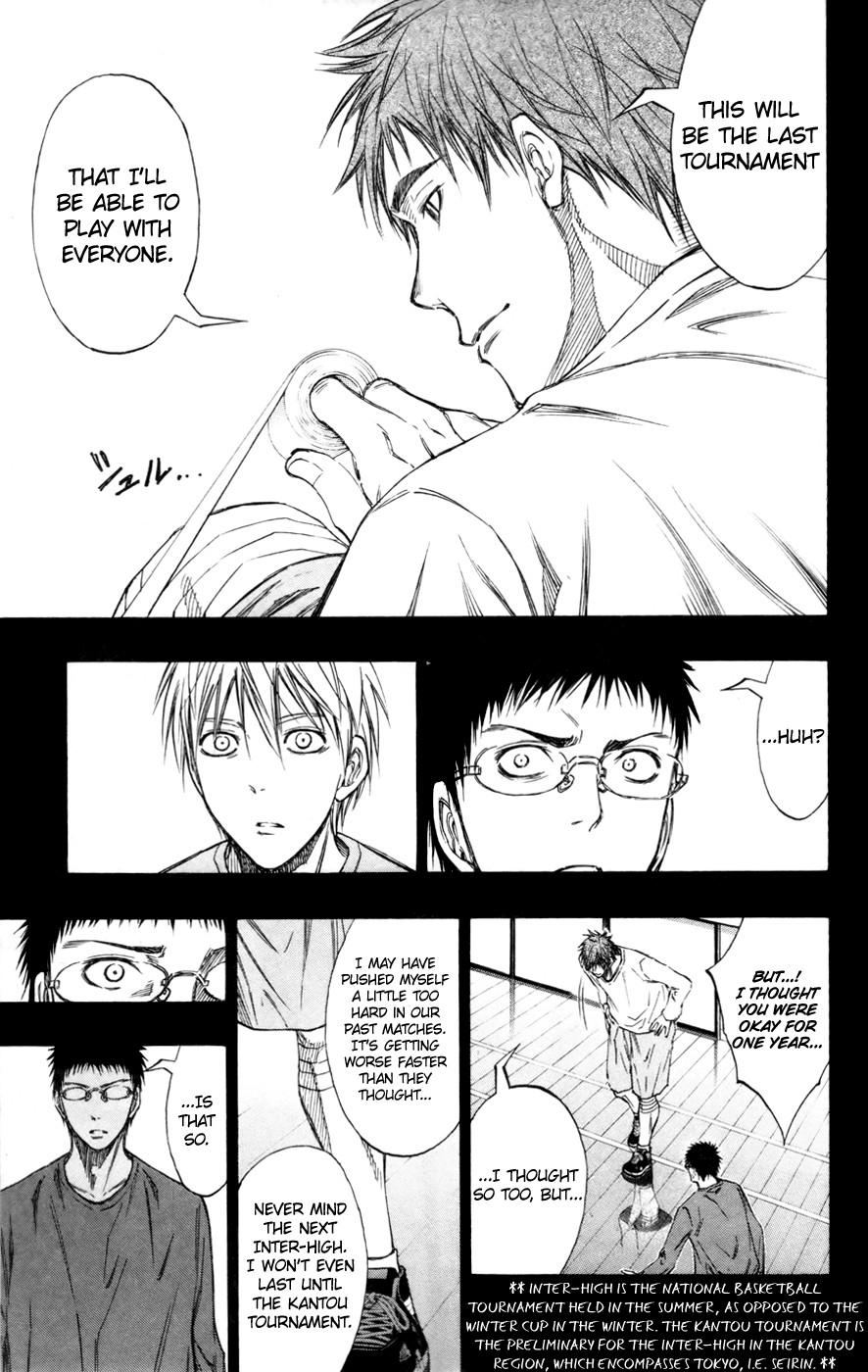 Kuroko no Basket Manga Chapter 128 - Image 07