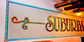 Large Suburban Soul interior wall sign