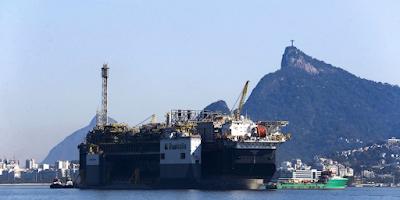 Produção de petróleo mostra recorde da Bacia de Santos