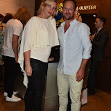 OIC - ENTSIMAGES.COM - Michelle Basnett and Robert Griffiths at the  Bang and Olufsen 90th Anniversary Love London Collection  London 10th September 2015 Photo Mobis Photos/OIC 0203 174 1069
