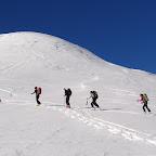 Ski rando à la Hourque de la Fousserette (8 décembre 2013)