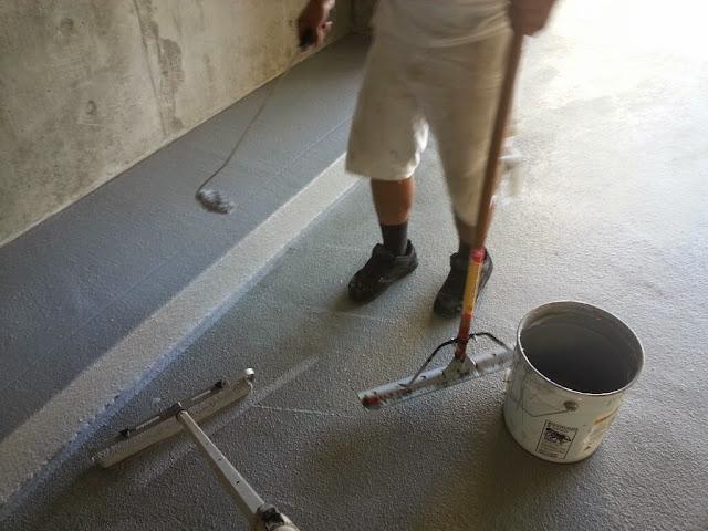 La Jolla Presbyterian Deck Waterproofing - 20131127_140252
