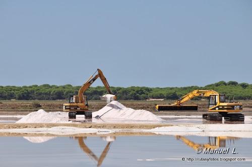 Extracción moderna de la sal