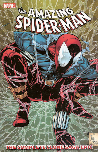 Spider-Man: The Complete Clone Saga Epic, Book 3 cover