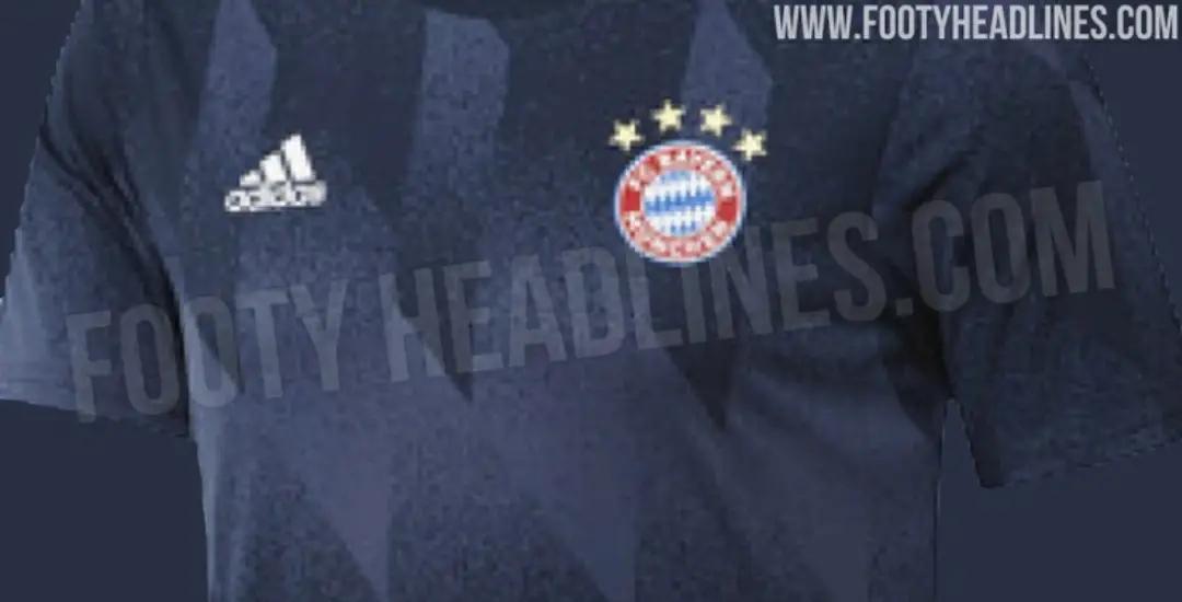 gambar ringan untuk artkel bocoran jersey prematch bayern Munchen musim 2020-2021