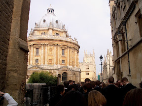 At the Radcliffe Camera