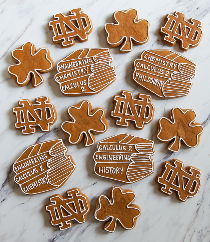 the best way to decorate gingerbread cookies
