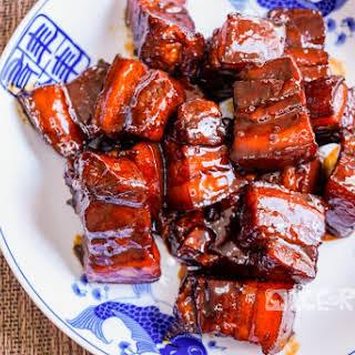 Red Braised Pork Belly (Hong Shao Rou).