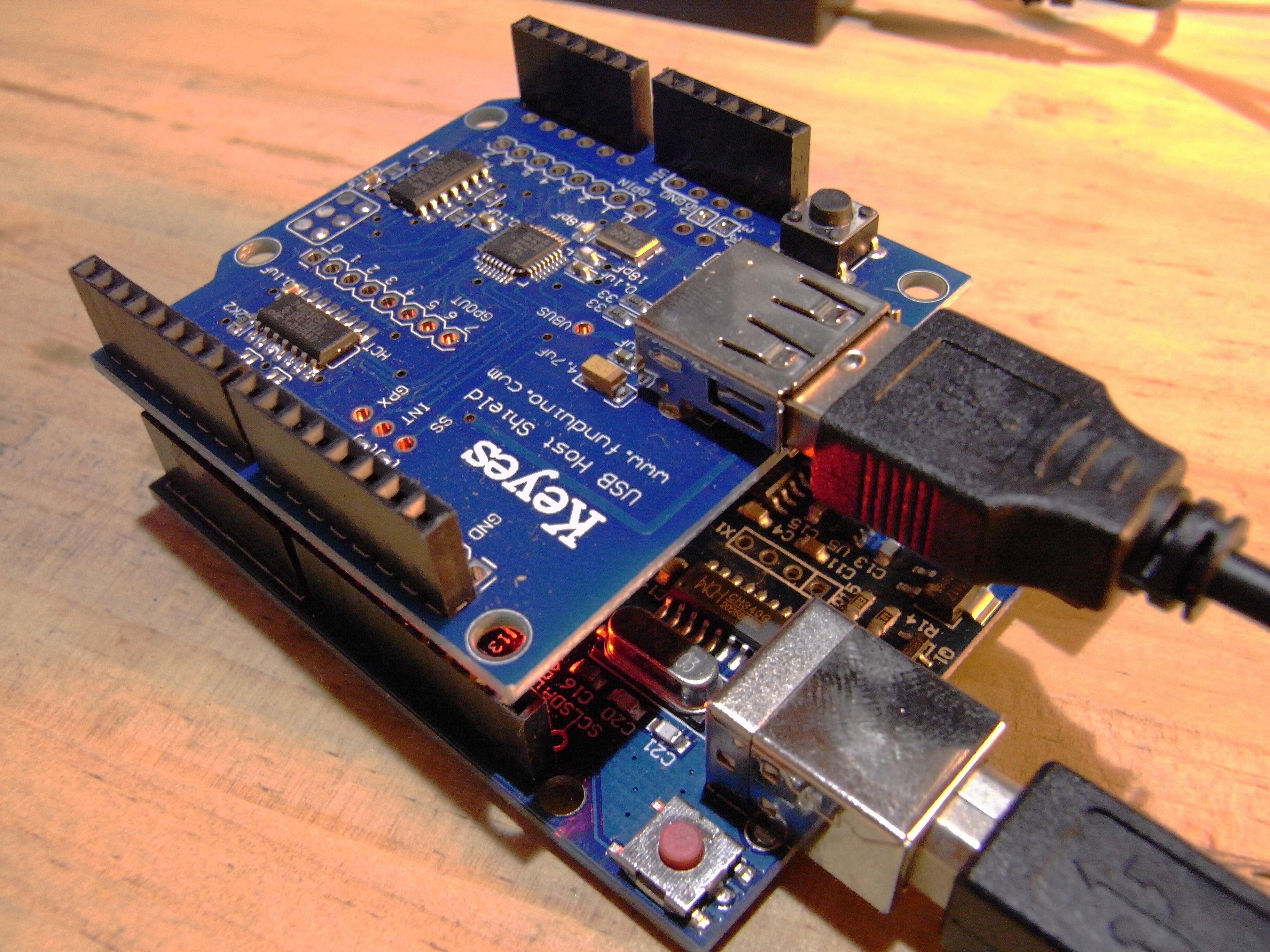 Arduino usb host shieldとusbシリアル通信を行う ch 編 すけログ
