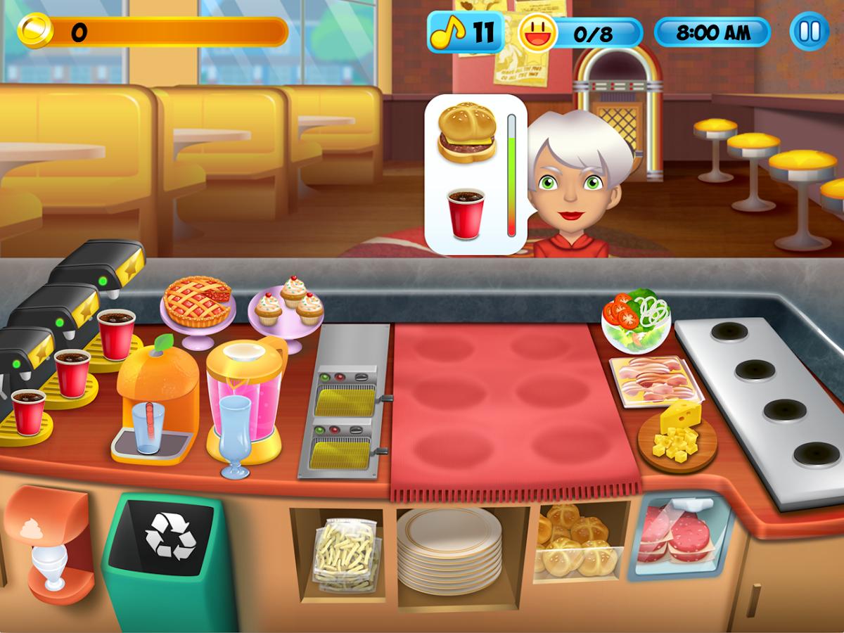 Diner Restaurant Penguin Games