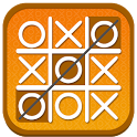 Tic tac toe multiplayer game icon