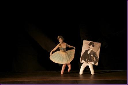 bailarina e percy