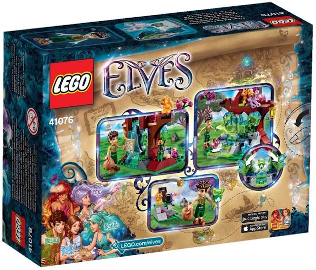 Sản phẩm Lego Elves 41076 Farran và thung lũng pha lê Farran and the Crystal Hollow