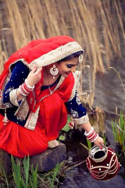 Beautiful Punjabi Girl pose