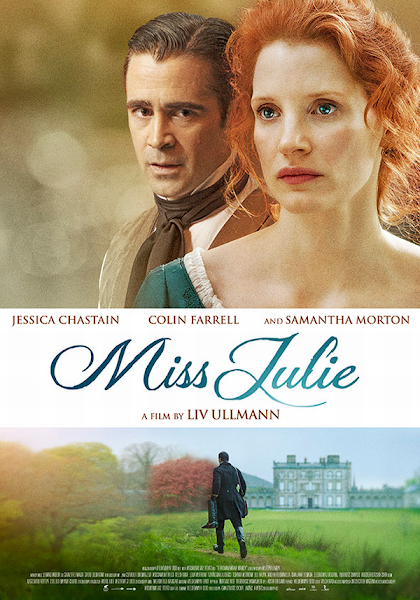 Δεσποινίς Τζούλια (Miss Julie) Poster