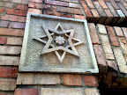 Estrella de ocho puntas en la plaza de toros de Bogota