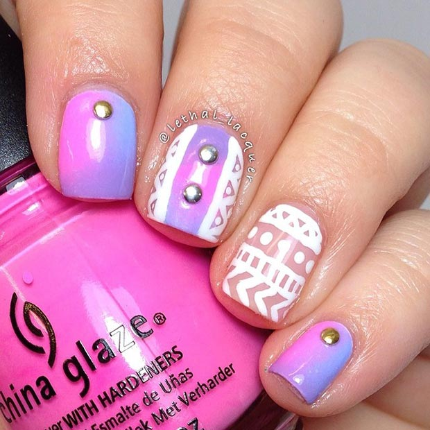 Cute Nail Designs For Guys : Nail design for short nails styles