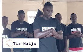 """Reactions as Muslim Activists wear """"Buhari Must Go"""" T-Shirt to the Mosque in Abuja without arrest 