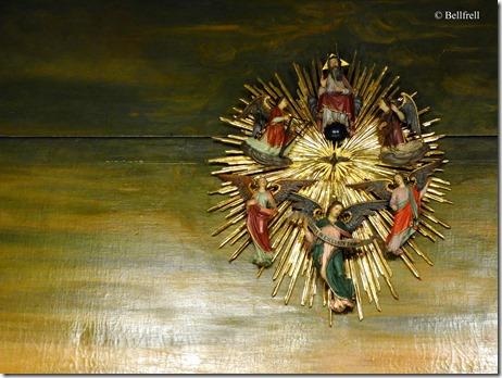 Stern der Benediktinerkrippe